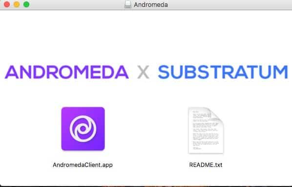 Install Andromeda Desktop Client on macOS