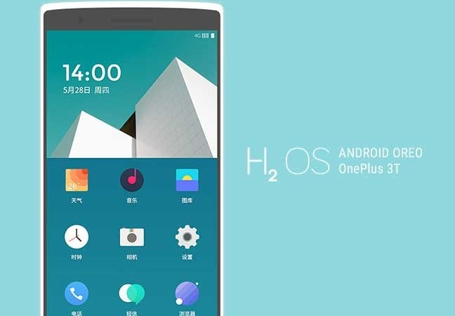 Install H20S-based OnePlus 3T Android Oreo Update