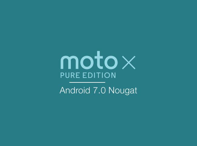Manually Install Moto X Pure Nougat OTA