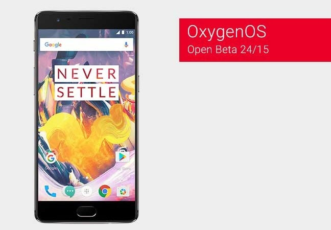 Install OxygenOS Open Beta 24/15 on OnePlus 3 and 3T