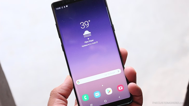 Install TWRP and root Samsung Galaxy Note 8 using Magisk