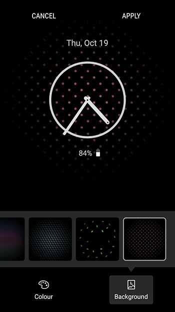 Enable Always On Display on Samsung Nougat - Screenshot 1