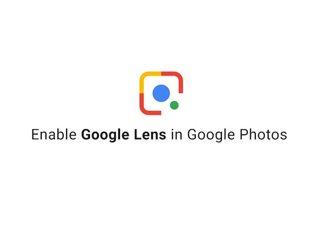 Enable Google Lens on Android