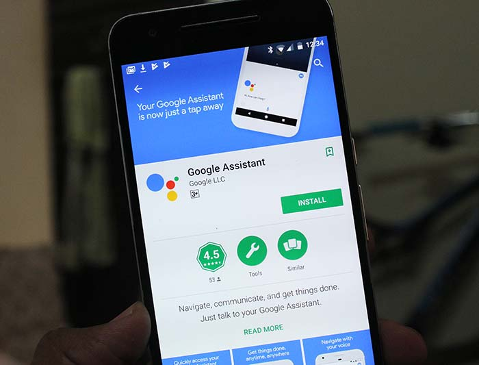 Download Google Assistant App on Play Store