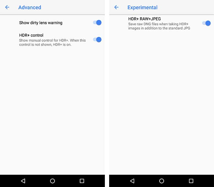Google Camera NX Brings Pixel 2 Camera Features on Nexus 6P/5X Screenshot 2