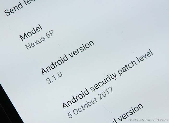 Install Android 8.1 Oreo Developer Preview on Pixel and Nexus