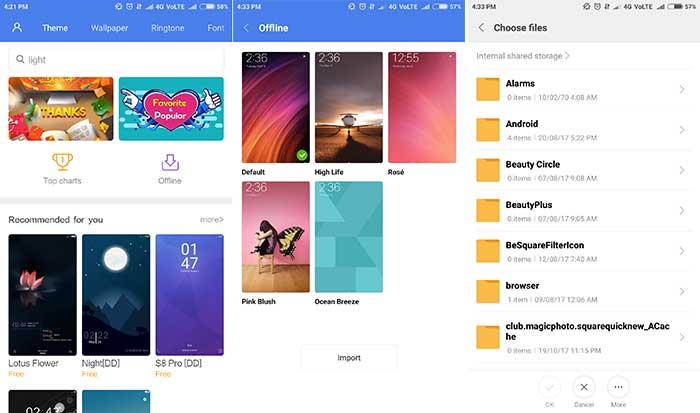 Install Google Product Sans Font - MIUI Themes App 1