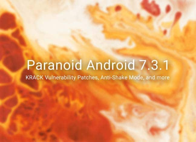 Download Paranoid Android 7.3.1