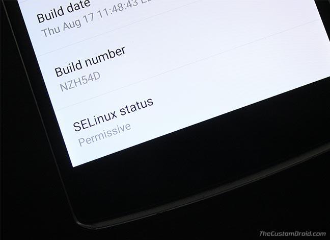 Set SELinux Permissive on Android