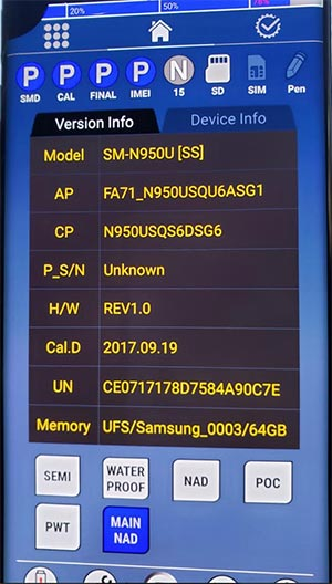 Combination OS on Snapdragon Galaxy Note 8
