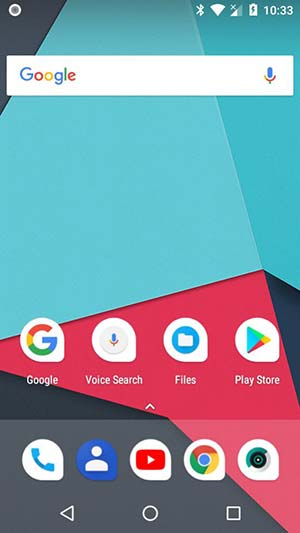 Update Android Oreo on Moto E using LineageOS 15 ROM - Screenshot 1