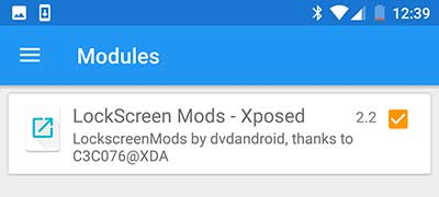 Xposed Framework on Nougat - Activate Xposed Module