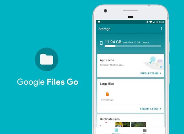 Download Google Files Go App - The Smart File Manager
