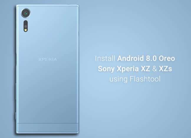 Install Android Oreo on Xperia XZ and XZs