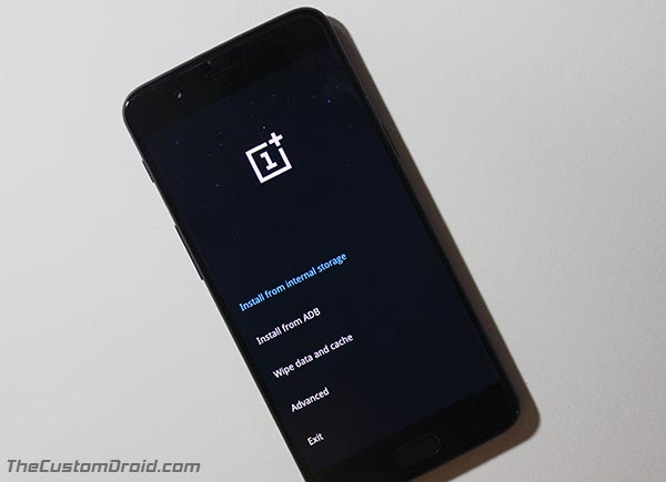 Install OxygenOS 4.5.14 Update - OnePlus 5 stock recovery