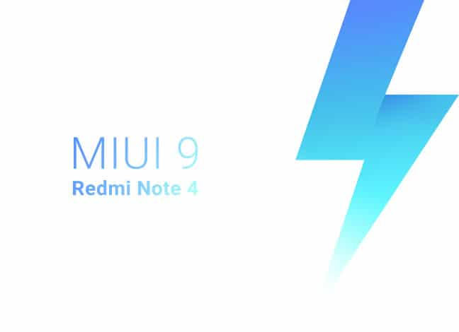 Install Redmi Note 4 MIUI 9 Stable ROM