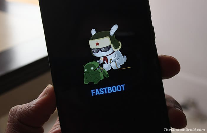 Install TWRP Recovery on Xiaomi Mi A1 - Boot into Fastboot Mode