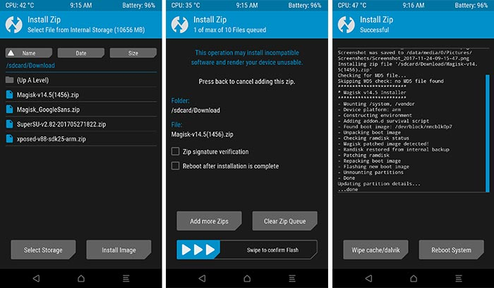Root Android using Magisk 14.5 Beta Update using TWRP