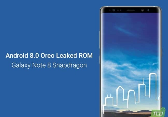 Install Android Oreo on Galaxy Note 8 Snapdragon (Leaked ROM)