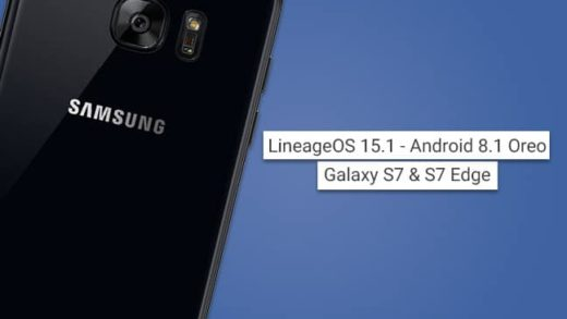 Install LineageOS 15.1 on Galaxy S7 and S7 Edge