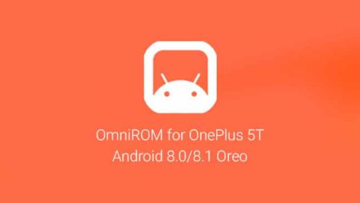 Install OmniROM on OnePlus 5T