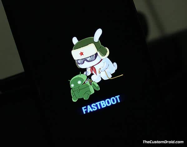 Install Xiaomi Mi A1 December Update - Fastboot Mode
