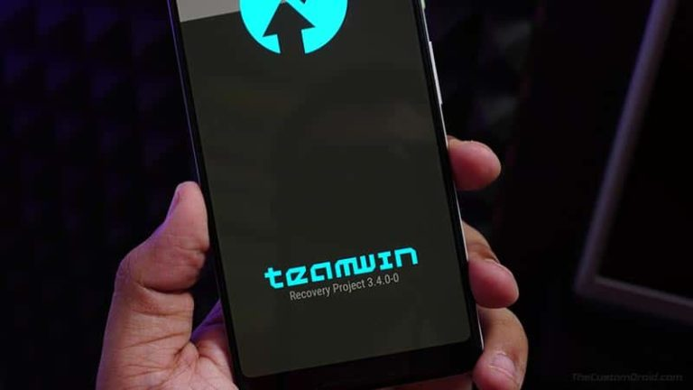 TWRP 3.4 Recovery - Download & Installation Guide