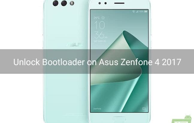 Unlock Bootloader on Asus Zenfone 4 2017