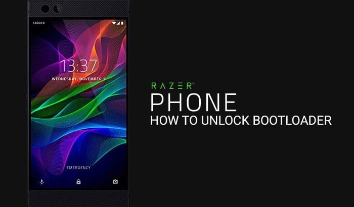 How to Unlock Bootloader on Razer Phone