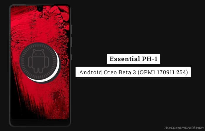 Install Essential Phone Oreo Beta 3 Update