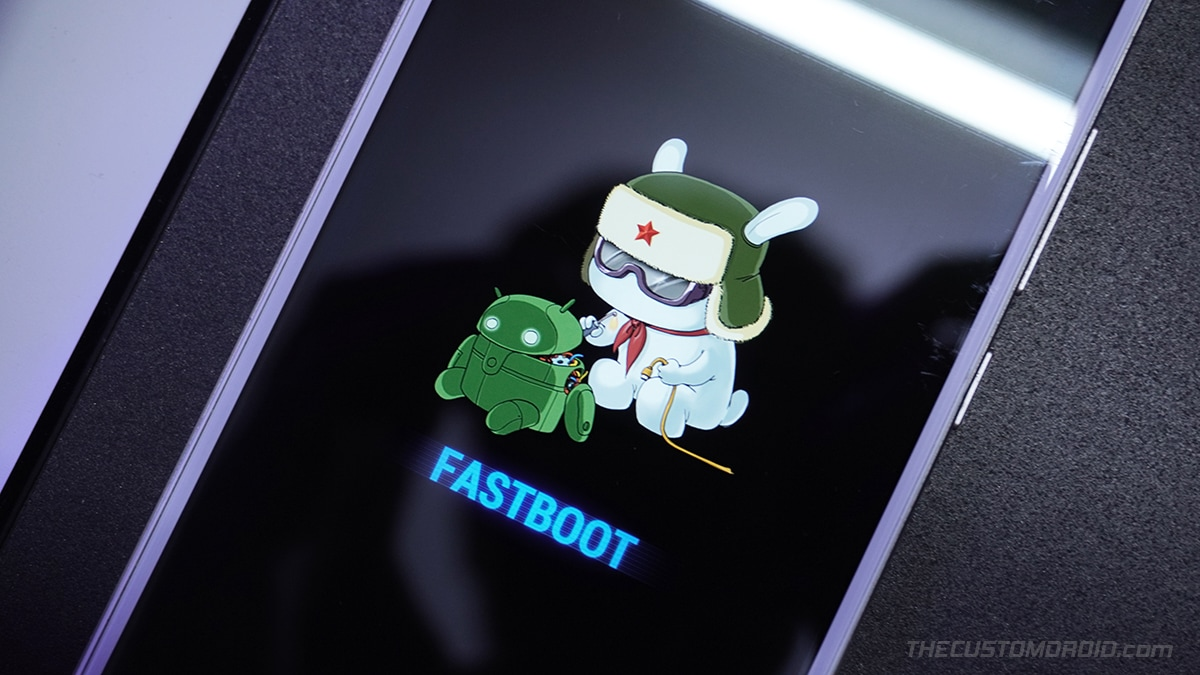 Boot Xiaomi device into Fastboot Mode
