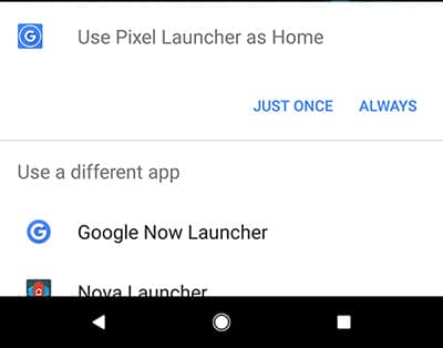 Install Rootless Pixel 2 Launcher and Set It As Default