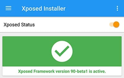 Install Xposed Framework on Android Oreo - Activation Status