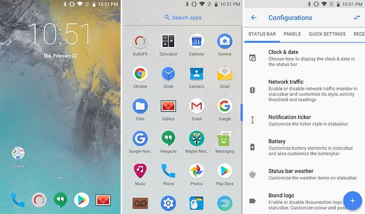 Best Custom ROMs for Galaxy S7 and Galaxy S7 Edge - Resurrection Remix Oreo