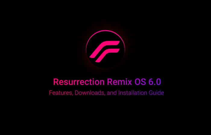 Download and Install Resurrection Remix 6.0 ROM - Android 8.1 Oreo
