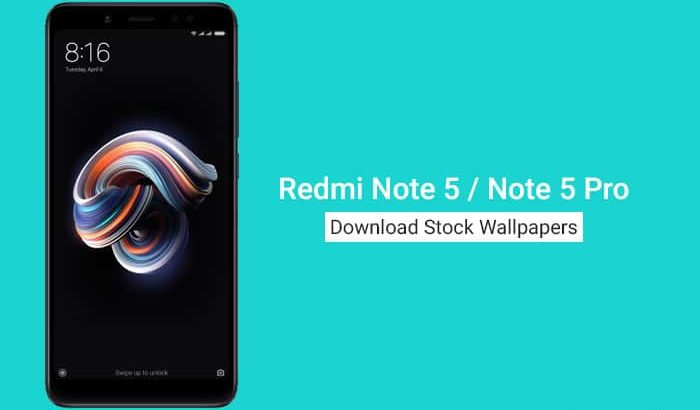 Download Redmi Note 5 Stock Wallpapers
