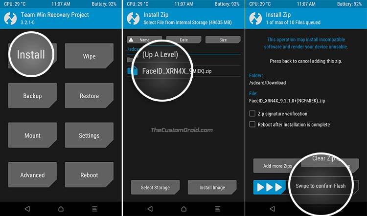 Enable Face Unlock on Redmi Note 4 - Screenshot 2