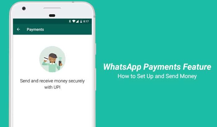 How to Use WhatsApp Payments Feature