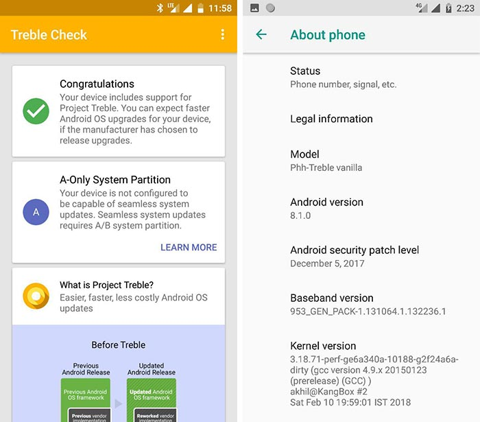 Install Redmi Note 4 LineageOS 15.1 ROM - Screenshots