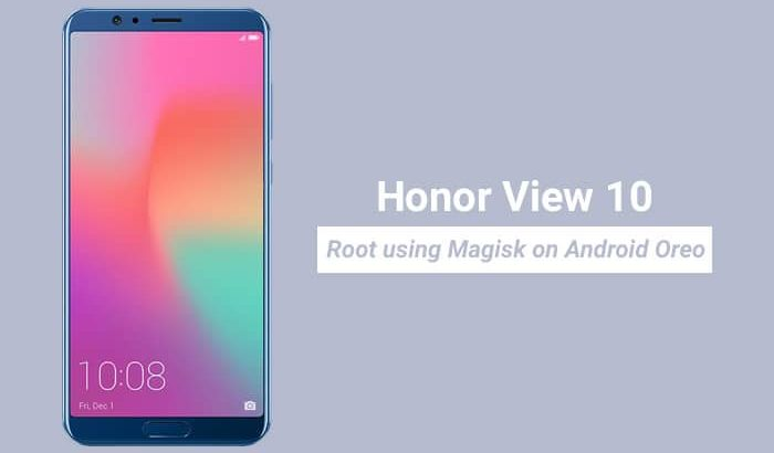 Root Honor View 10 using Magisk