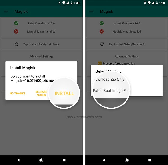 Root Xiaomi Mi A1 Android Oreo - Patch Boot.img