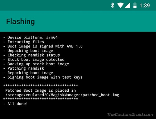Root Xiaomi Mi A1 Android Oreo - Patched Boot.img