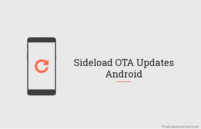Sideload OTA Update on Android