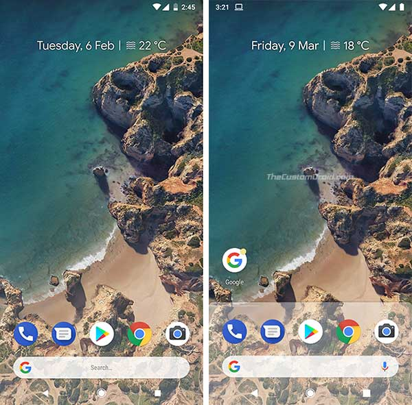 Download Android P Pixel Launcher - Screenshots