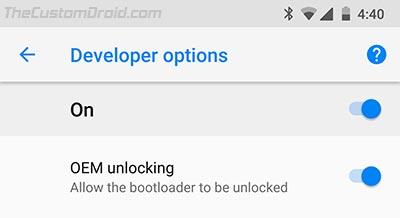 Enable OEM Unlocking on Android - 2