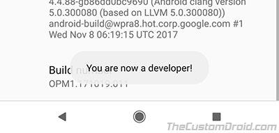 Enable OEM Unlocking on Android - Developer Options - 3