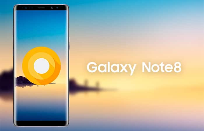 Galaxy Note 8 Android Oreo Update is Finally Rolling Out