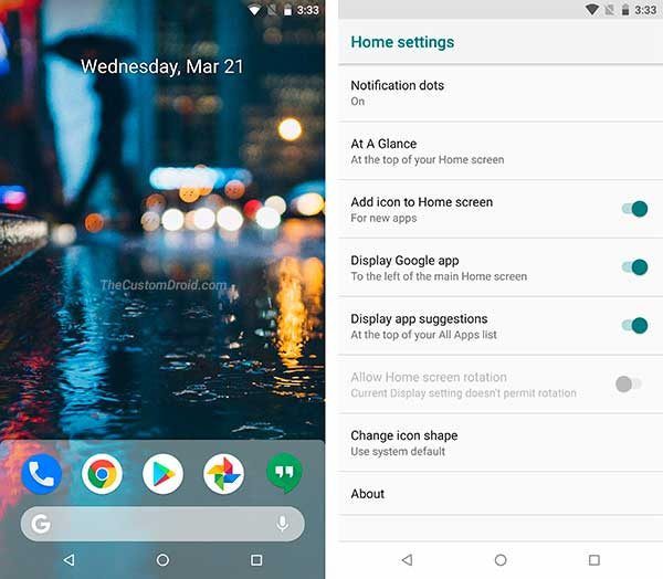 Get Android P Features on Any Android Device - Android P Launcher