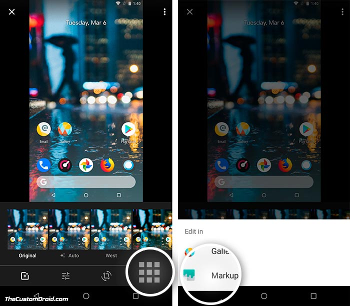 Use Google Markup App from Android P - 1