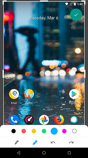 Use Google Markup App from Android P - 2